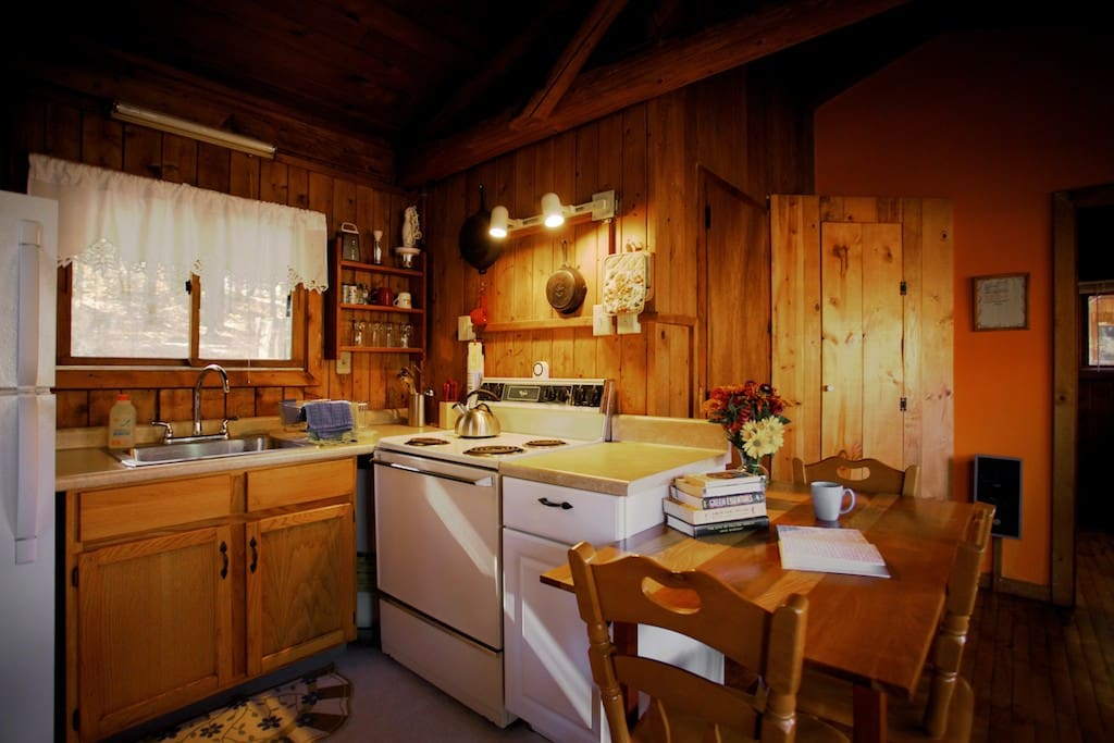 A well equipped kitchen has everything you need for cooking meals!