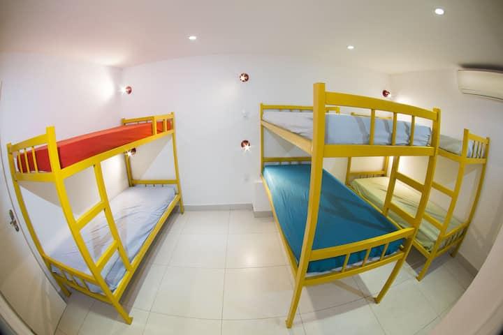 Monte&Mar São Conrado quarto  compartilhado 1