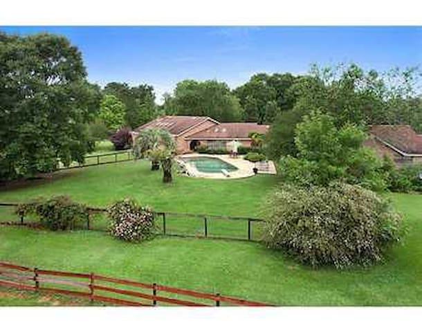 Aerial of our estate ...