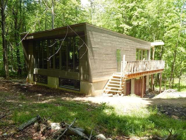Modern Cabin with Lake/Ridge View - Winter Retreat - Wallkill