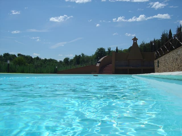 Situated in the heart of Tuscany - Tuscany Italy, Arezzo - 一軒家
