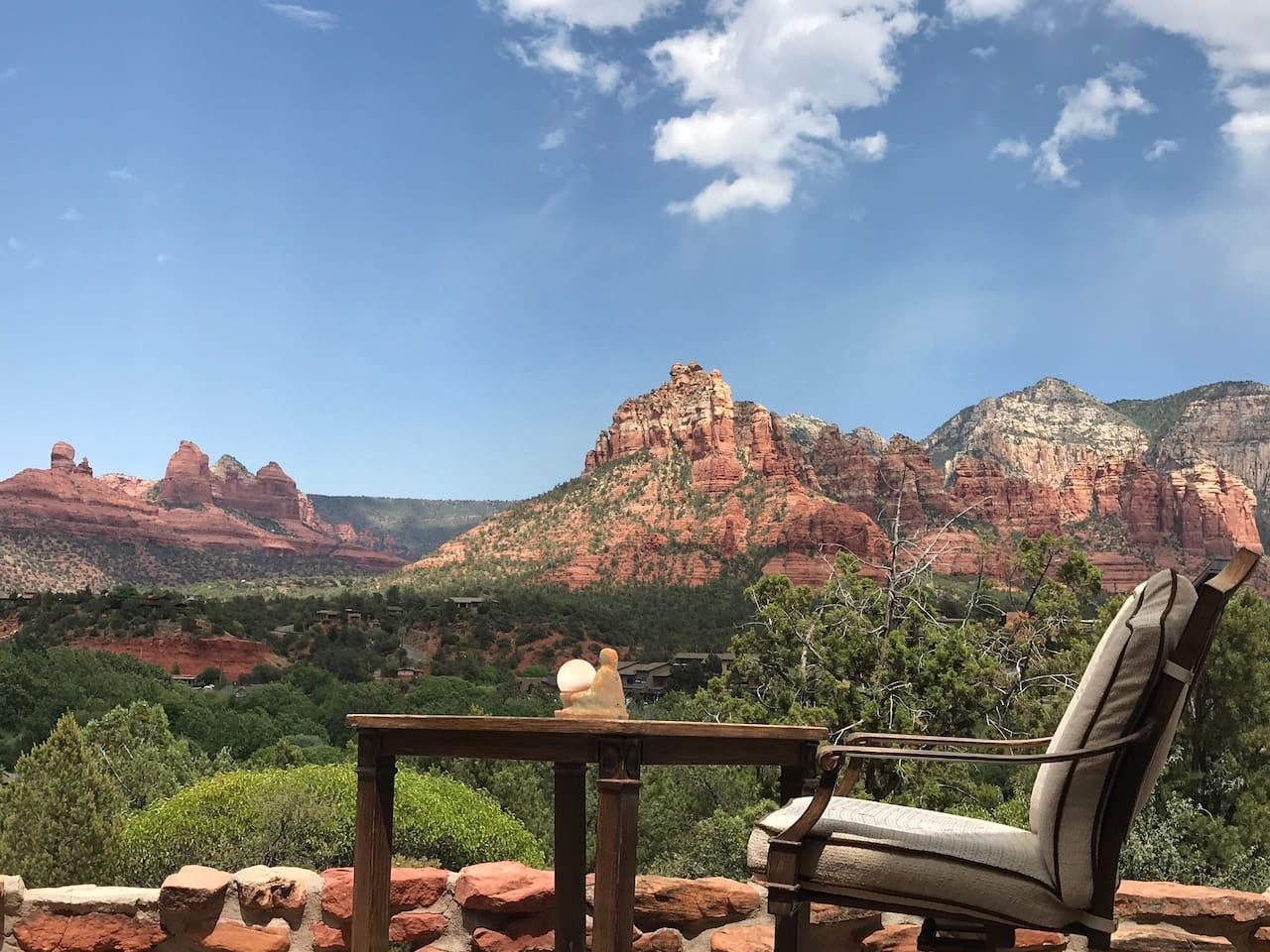 Views from Backyard