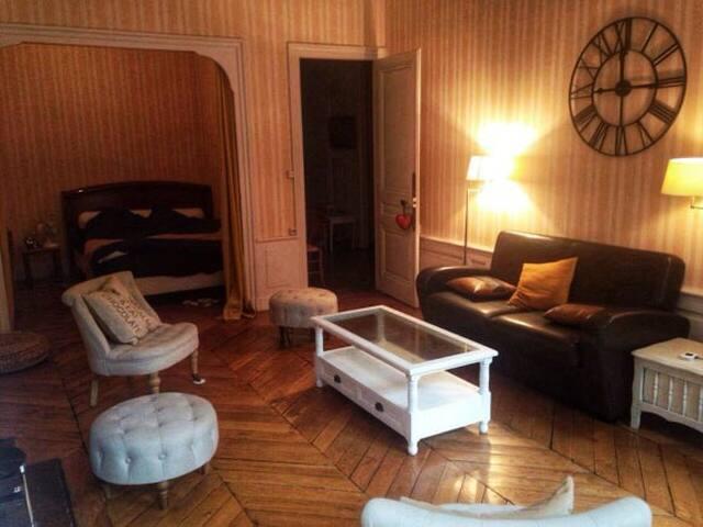 Bel appartement spacieux sur la presqu'île de Lyon