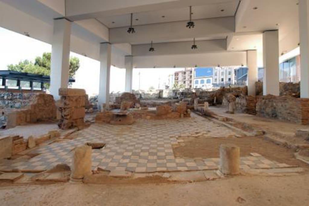 Ruinas Romanas en Mérida.
