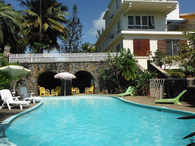 Grande Villa avec vue sur le lagon. - Calodyne - Villa