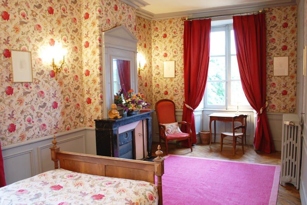 Belles chambres dans chateau chambres d 39 h tes louer for Chambre d hote chateau de la loire