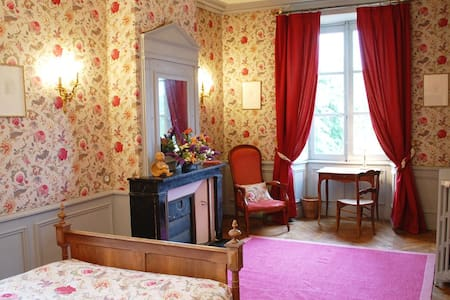 Luxurious Room in 18th C Chateau - Bazouges-sur-le-Loir