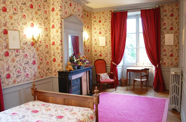 Luxurious Room in 18th C Chateau