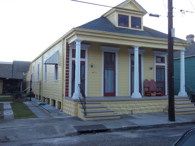 Bywater shotgun double with on-street parking