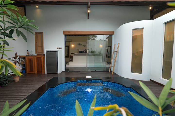Stay Shark Villas Gili Air - Blacktip Shark Villa