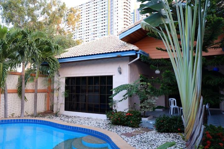 Mediterranean Beach style house 1 - Pattaya - Villa