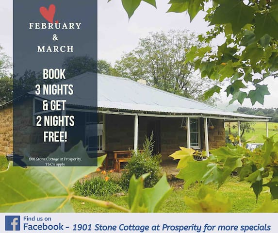 1901- Stone Cottage at Prosperity