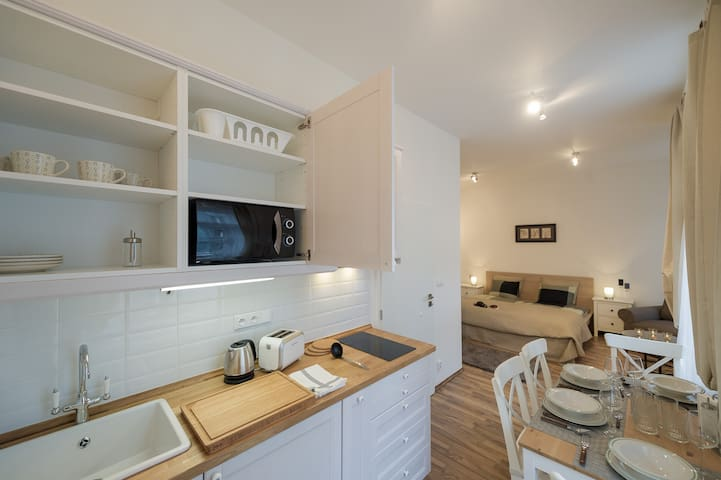 Charming Studio Apt. 1 - Old Town - Prag