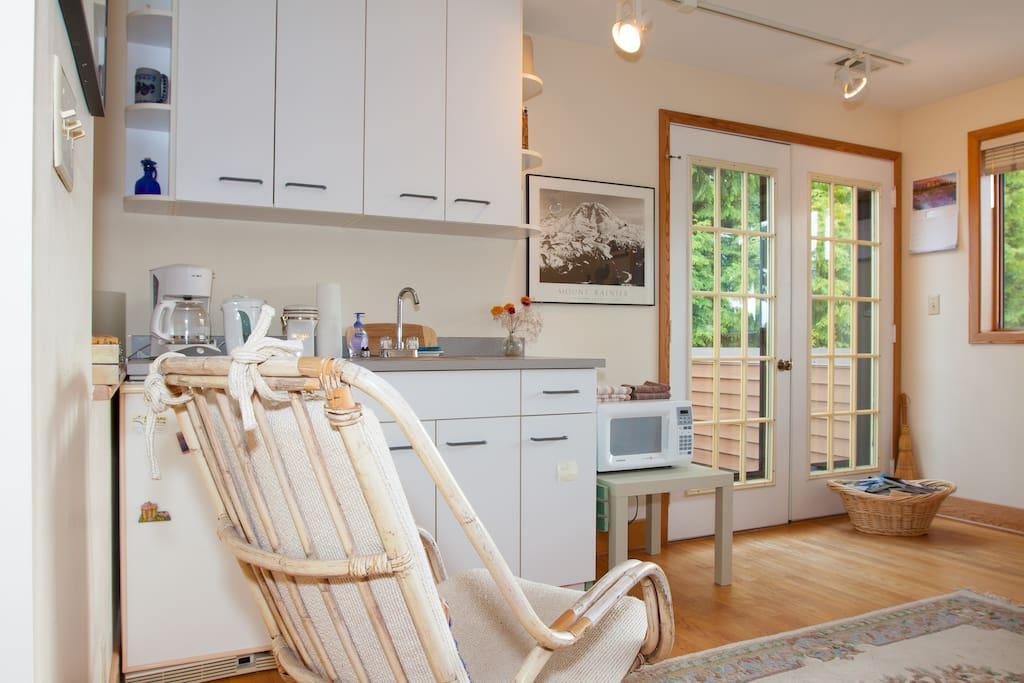West-facing suite - for maximum light and sunshine-