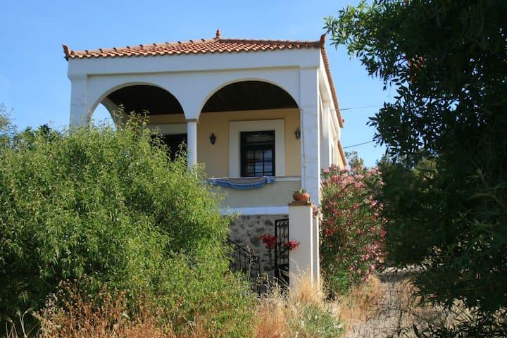 Beach charming villa (10-14pers) a Greek paradise - Chios - Rumah