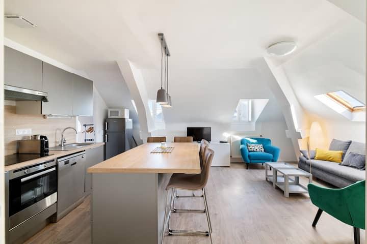 Appartement cosy Biarritz, plages et halles à pied