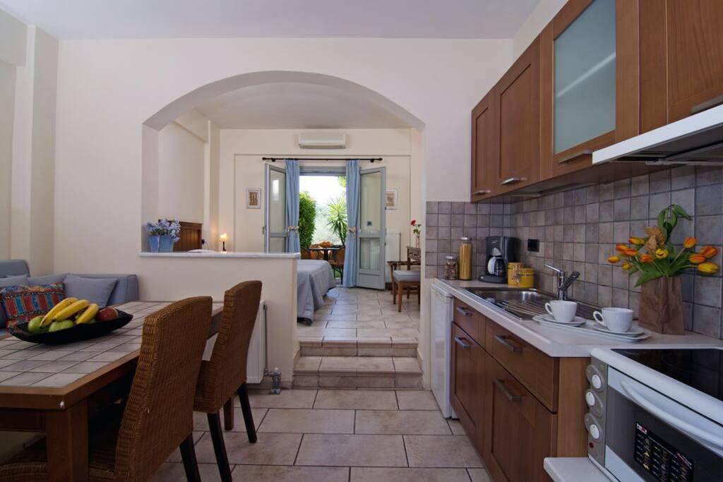 Apartment IOLI (32 m²) Kitchen & eating Area
