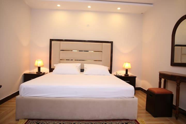 One bed furnish in dha phase 5 L block