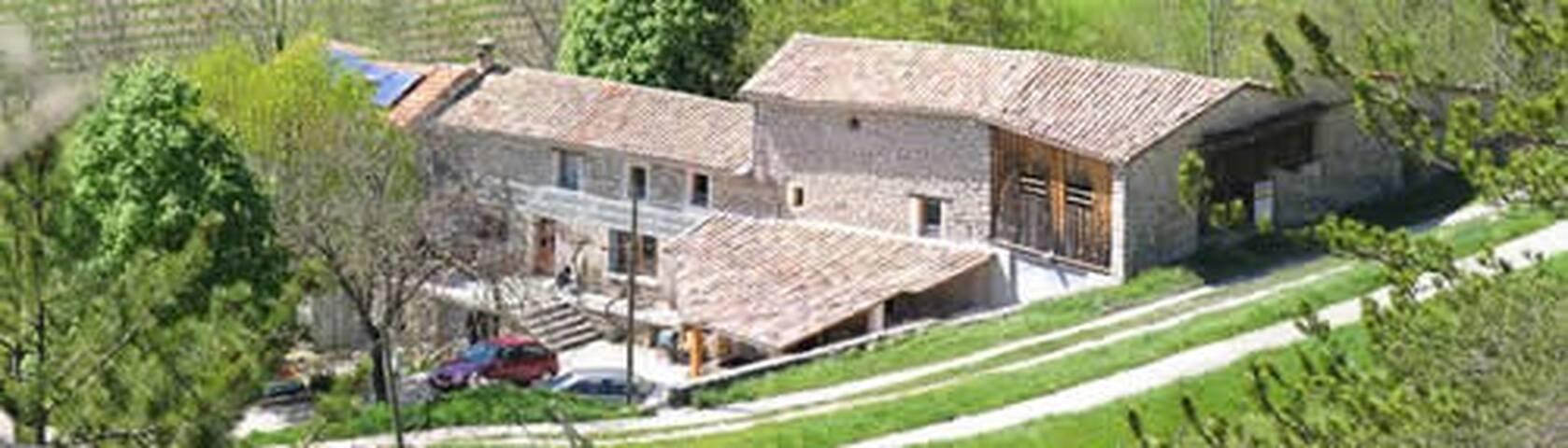 chambres d'hôtes fermedelasource - Ponet-et-Saint-Auban - Bed & Breakfast