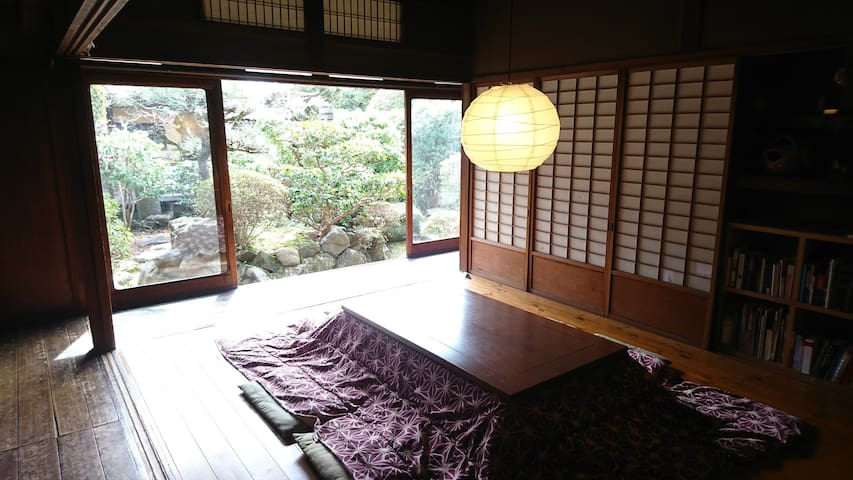 Female dorm room in Nara Backpackers
