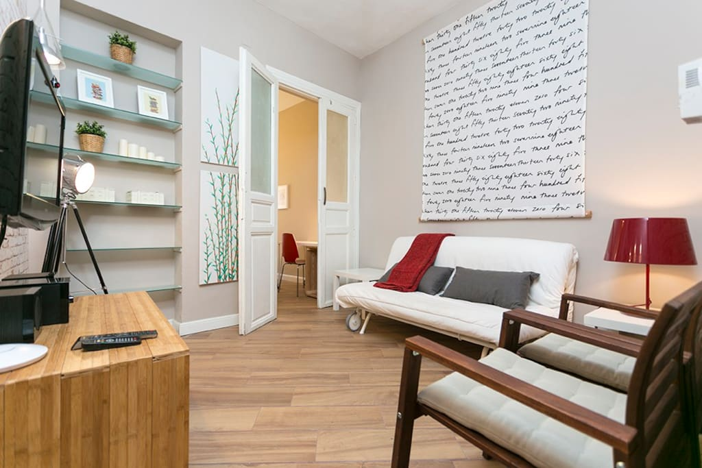 Bohemian apartment gran v a sol apartments for rent in - Singular kitchen madrid ...