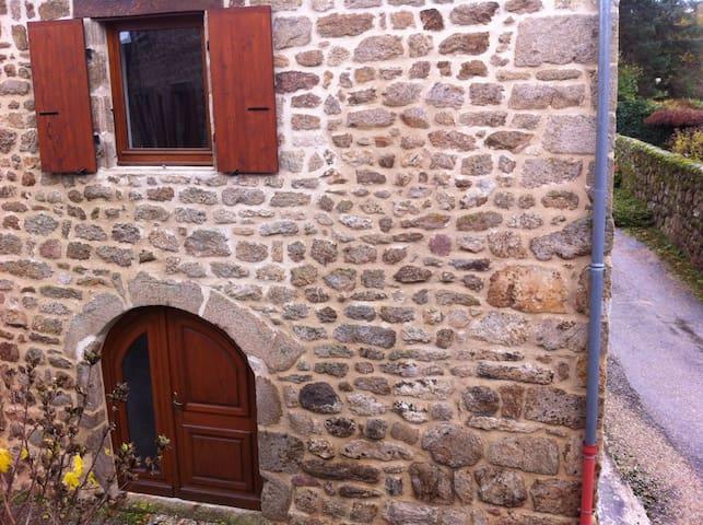 Maison de caractère Ardèche verte - Quintenas - Ház
