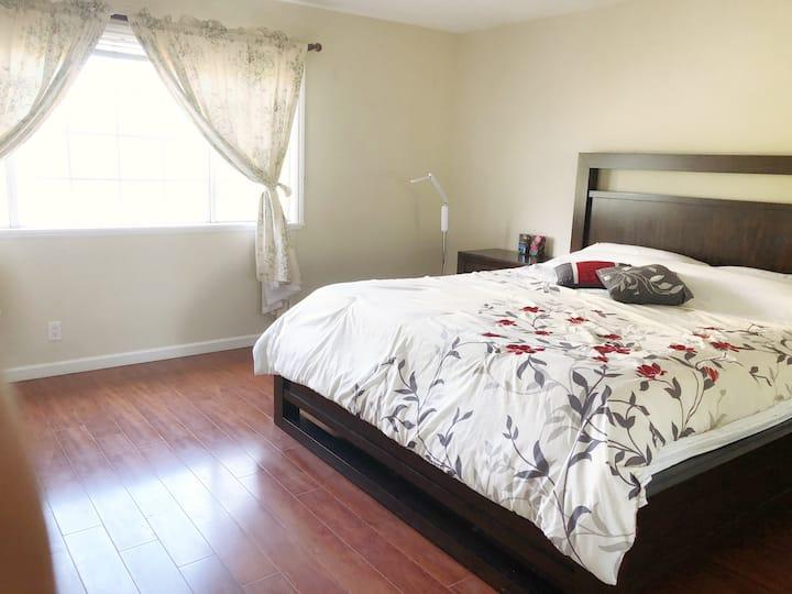 Fremont 好区房间,安静舒适,学生和旅游人士选择