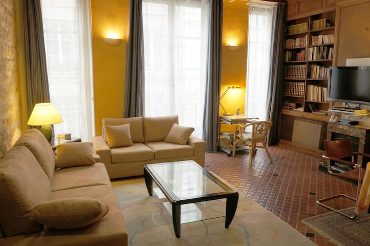 ILE SAINT-LOUIS + AIRPORT PICK-UP - Parijs - Appartement