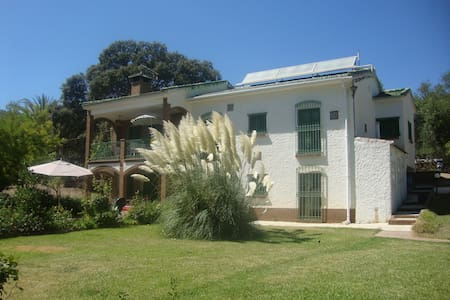 Private Finca with pool, up to 13 people - Casarabonela - Casa