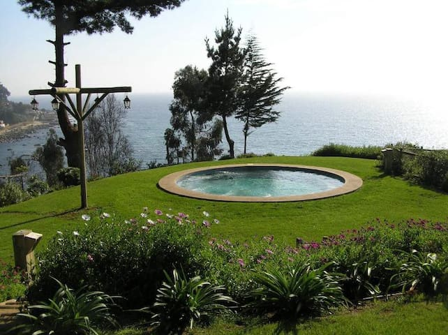 Fish town Ocean and Forest view apt - Horcon Chile - Pacific Ocean - Byt