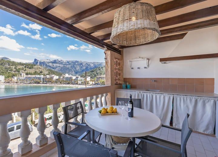 Cosy Apartment with sea views in Port de Sóller