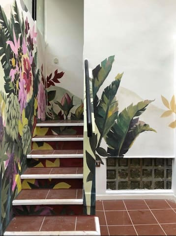 An Urban Oasis! Art filled PH with Private Terrace