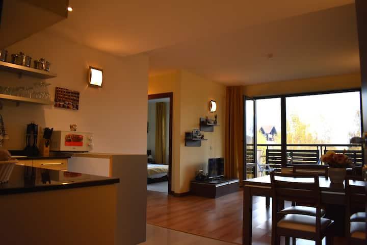 2BR Apartment in Balken House Terra Complex Bansko