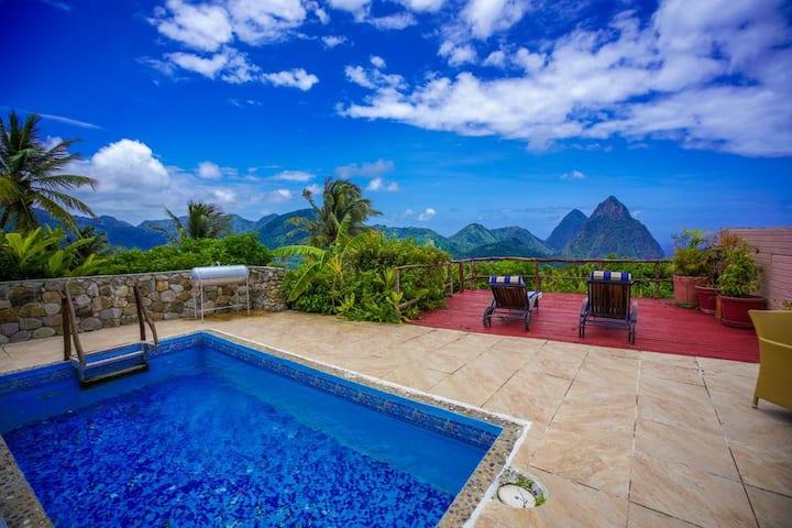 Three-bedroom Vacation Villa In Soufriere