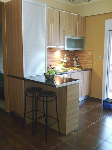 Διαμέρισμα στο κέντρο της Ι.Π.Μεσολογγίου - Mesolongi - Huoneisto