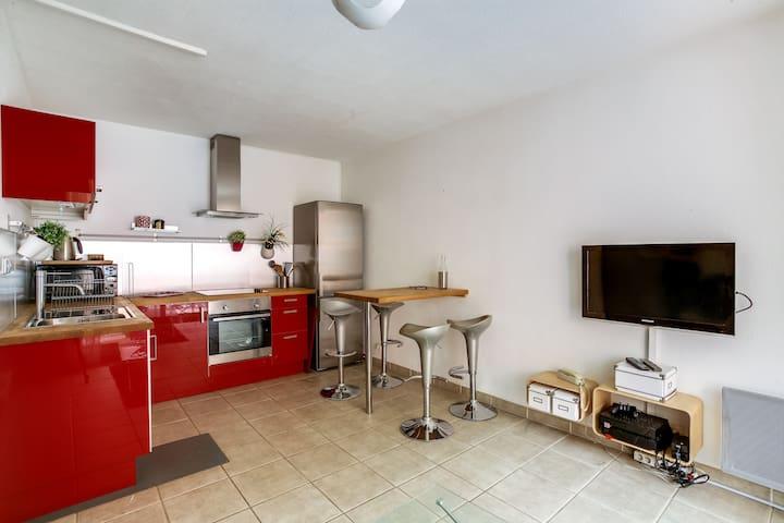 PHILADELPHIE T2 Terrasse Parking Centre Ville - Aix-en-Provence - Apartment