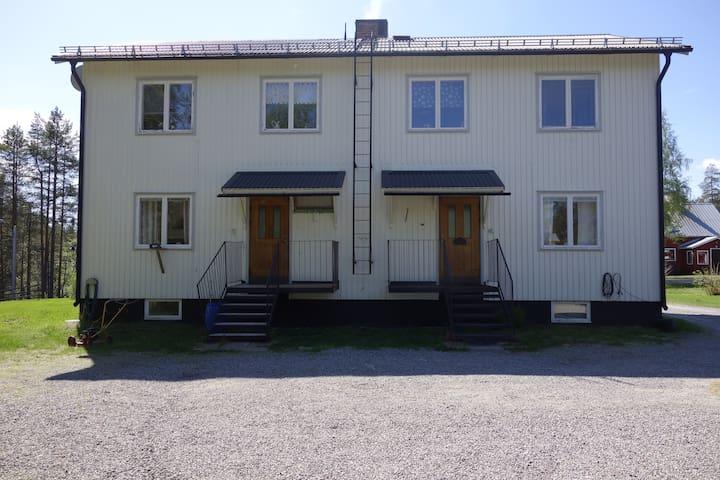 Lägenhet i natursköna Abborrträsk B