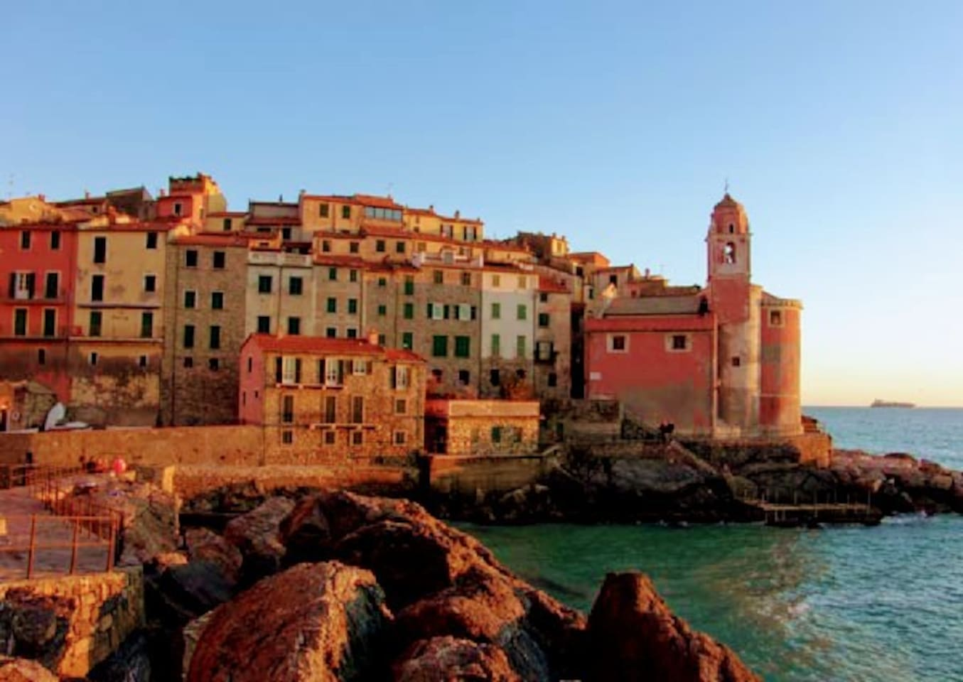 Picture of Tellaro, beautiful village at 20 minutes by car. My house in La Spezia is perfect to visit Cinque Terre and other places around...