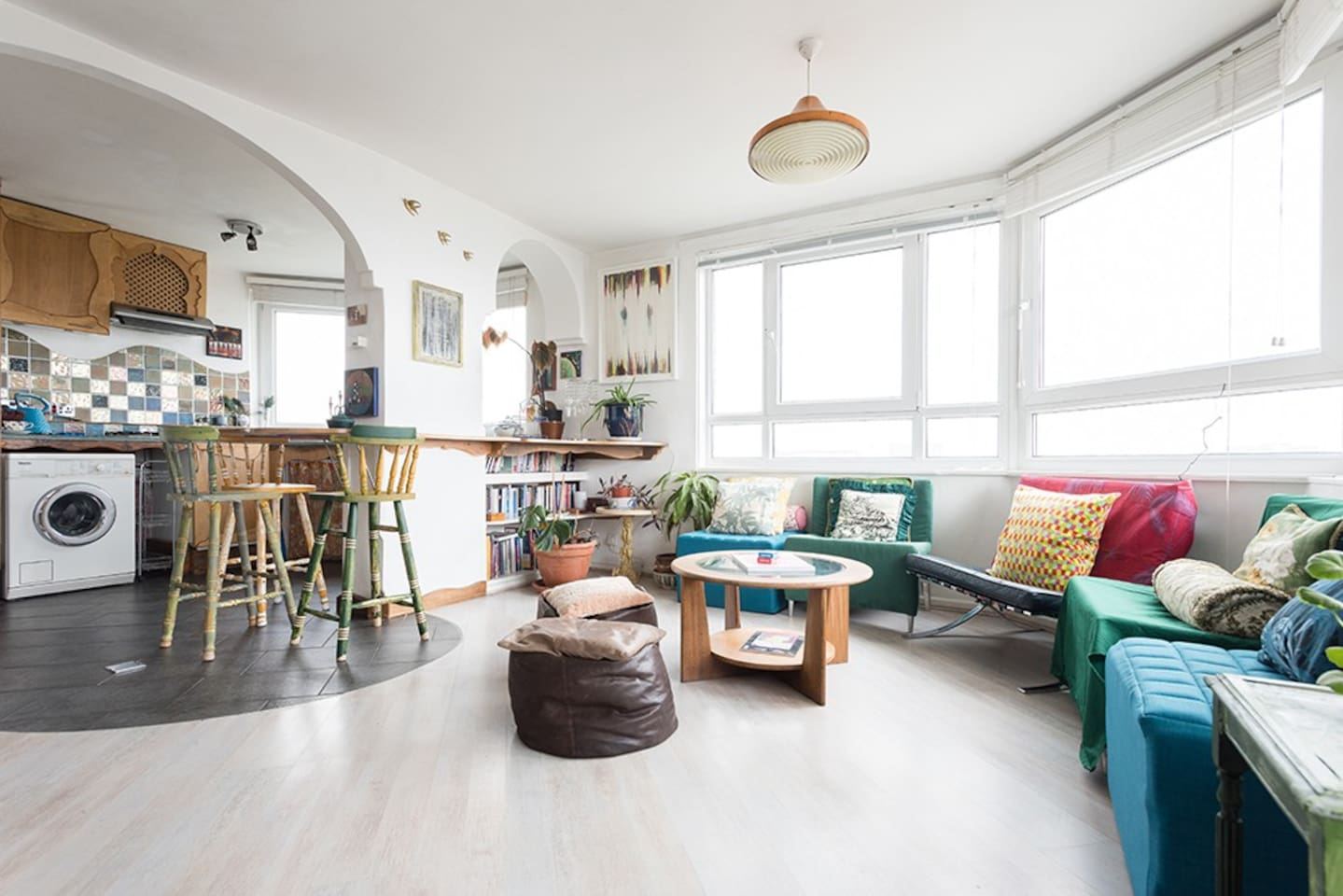 AMAZING Hoxton views in two neighbouring flats - Flats for Rent in ...