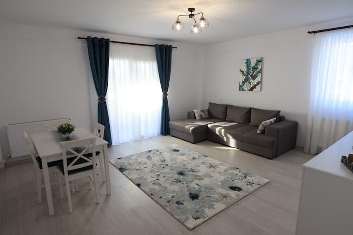 White Apartment Gura Humorului, Bucovina, Voronet