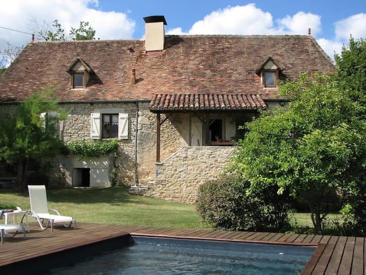 Une maison quercynoise typique