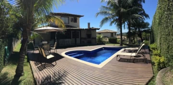 Casa Aconchegante em Condomínio em Geribá - 4 qtos