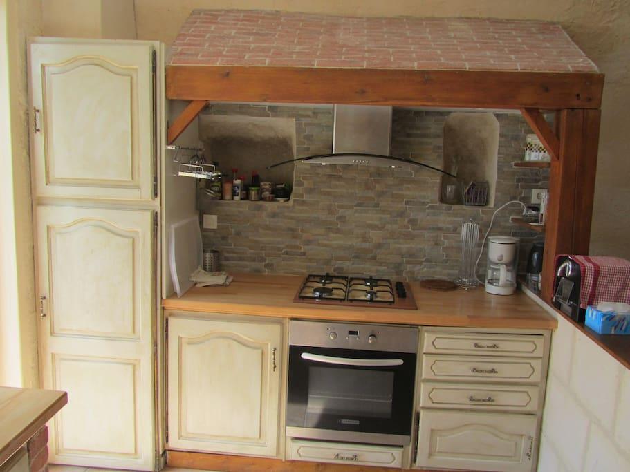 Cuisine espace cuisson