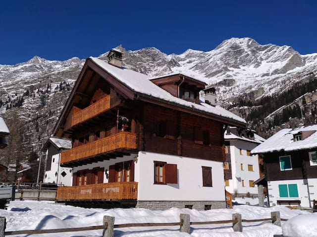Baita Grober Monte Rosa - Staffa - Appartement