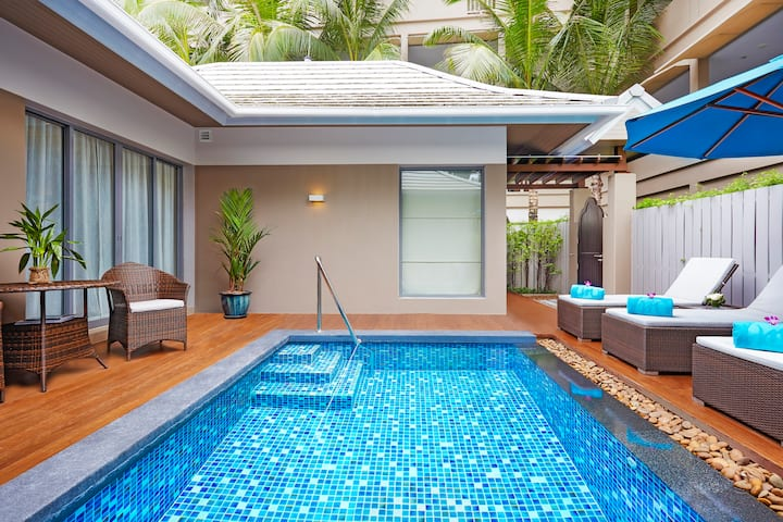 Amazing Two Bed Pool Villa in Patong  芭東市中心單臥泳池別墅
