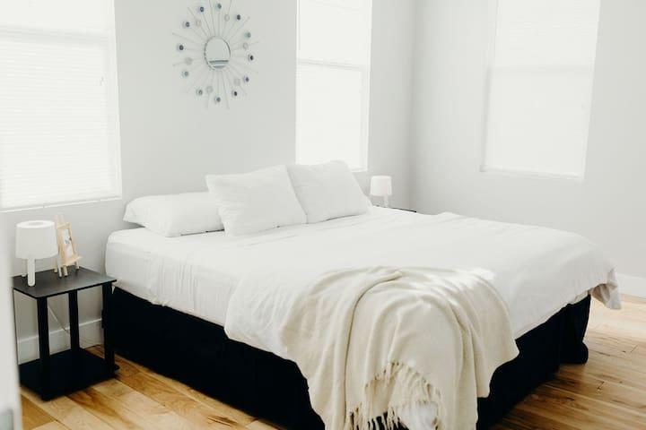 Bedroom 1 - Brand New Memory Foam King Mattress