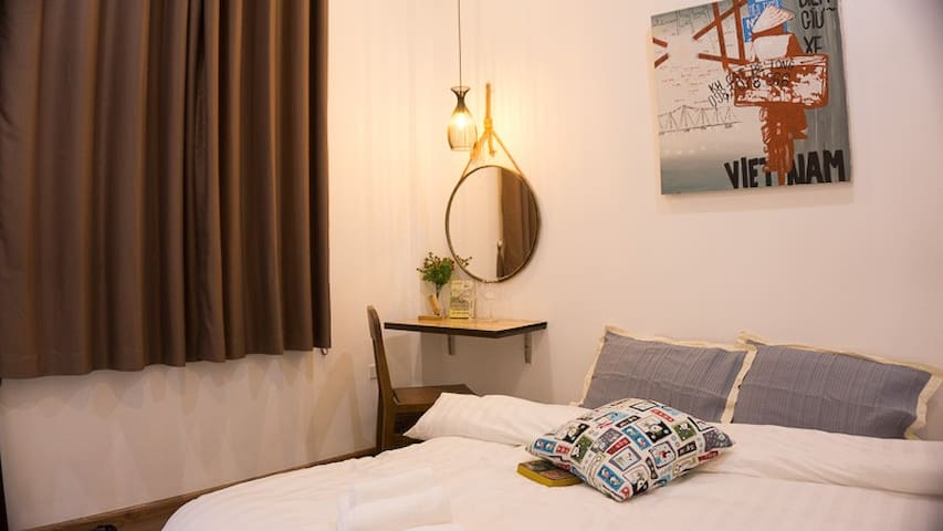 Cozy decor bedroom in the heart of Hanoi 302