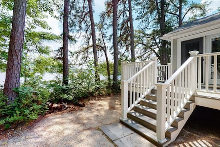 NEW LISTING! Quaint lakeside cottage w/ private beach access & comforts of home!