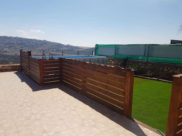KOSHER Villa in the Galil by Mount Meron