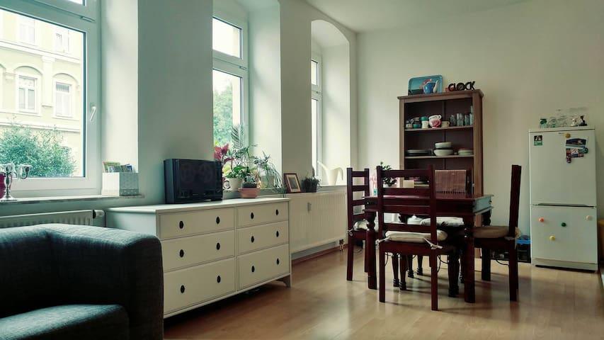 Sonniger gemütlicher Altbau  -  sunny cozy rooms - Dresden - Leilighet